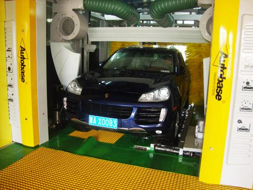 Safe Reliable Tunnel Car Wash CE / ISO Computer Controlled 35 kw