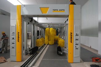 الصين TEPO - AUTO Tunnel Car Wash System المزود