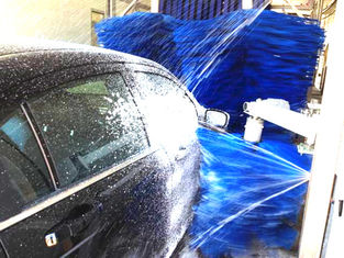 الصين Low Noise Durable Car Wash Tunnel Systems Keep Washing Process Stability المزود