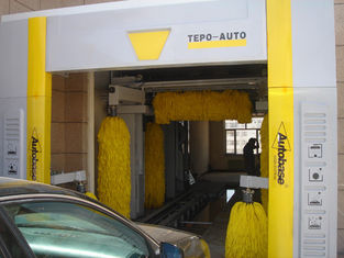 الصين Automatic Tunnel Car Wash System which can wash 400-500 cars per day المزود