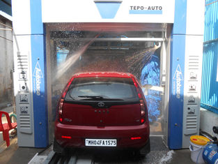 الصين TEPO-AUTO Car Washing Machine Automatic , Wash 60 - 80 Cars Per Hour المزود