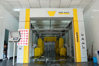 الصين Fully Automated Car Wash Tunnel Systems Wash Speed 60-80 Cars / Hour مصنع