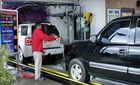 Industrial restructuring straightly directed to the car washer area